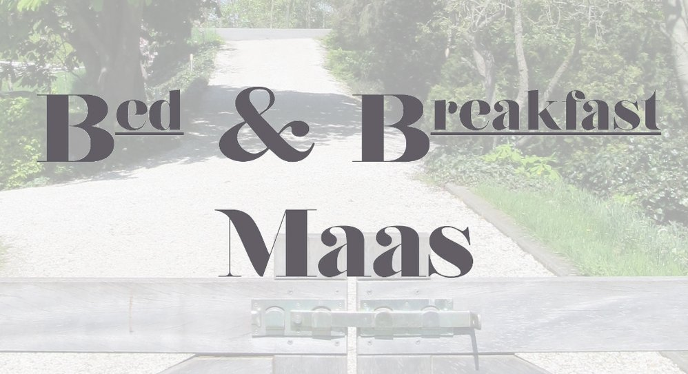 Bed en Breakfast Maas